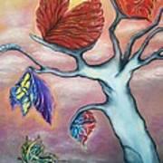 Butterflies In The Midst  Art Print