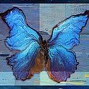 Butterfly Art - Dream It Do It - 99at3a Art Print