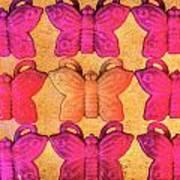 Butterfly Beads Art Print