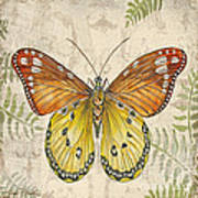 Butterfly Daydreams-c Art Print