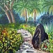 Butterfly Garden At Gumbo Limbo Art Print