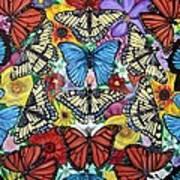 Butterfly Haven Art Print