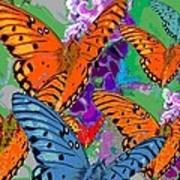 Butterfly Joy Art Print