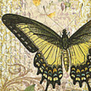 Butterfly Kisses-c Art Print
