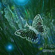 Butterfly Magic By Jrr Art Print