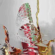 Butterfly Art Print by Soumya Bouchachi