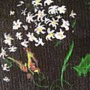 Butterfly Sprig Art Print