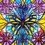 Butterfly Art Print by Teal Eye  Print Store