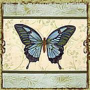 Butterfly Trio-3 Art Print