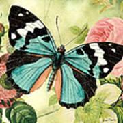 Butterfly Visions-b Art Print