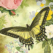 Butterfly Visions-d Art Print