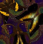 Butterfly Worlds Art Print