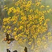 Butterfly's Paradise Art Print