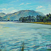Buttermere Haystacks And Beyond Art Print