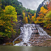 Buttermilk Falls Art Print by Mark Papke