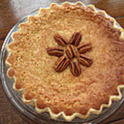 Buttermilk Pecan Pie Art Print