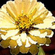 Buttermilk Yellow Art Print