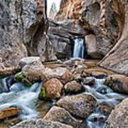 Buttermilks Waterfall Art Print