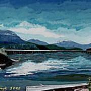 Buttle Lake Art Print by David Skrypnyk