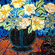 Button Up Vase Art Print by Diane Fine