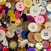Buttons 671 Art Print