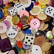 Buttons 674 Art Print