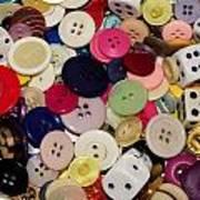 Buttons 678 Art Print