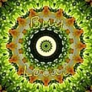 Buy Local Green 1 Art Print