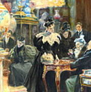 Buying Christmas Presents 1895 Art Print by Padre Art