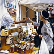 Buying Honey Art Print