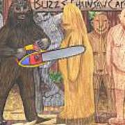 Buzz Bigfoot Art Print