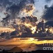 Bvi Sunset  Art Print
