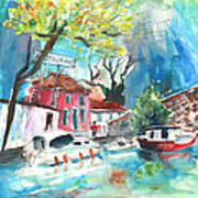 By A French Canal 01 Art Print