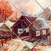 By Gone Bridge Art Print