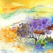 By Teruel Spain 01 Art Print