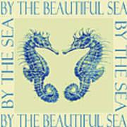 by the beautiful sea II Art Print by Jane Schnetlage