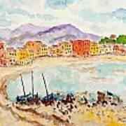 by The Lake II Art Print