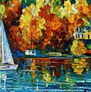 By The Rivershore Art Print