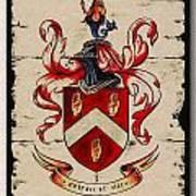 Byrne Coat Of Arms Art Print