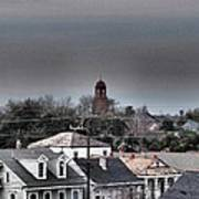 Bywater Rooftops Art Print