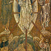 Byzantine Icon Depicting The Transfiguration Art Print
