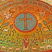 Byzantine Mosaic Art Print