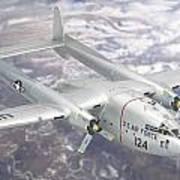 C-119 Flying Boxcar Art Print