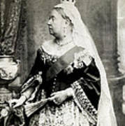 C. 1880 Her Majesty Queen Victoria Art Print