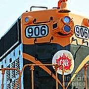 C N R Train 906 Art Print