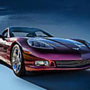 C6 Corvette Art Print