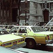 Cab Central Art Print
