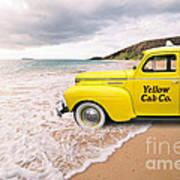Cab Fare To Maui Art Print