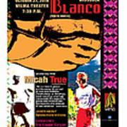 Caballo Blanco Event Poster In Missoula Montana Art Print