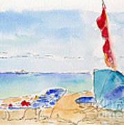 Cabana Time Art Print